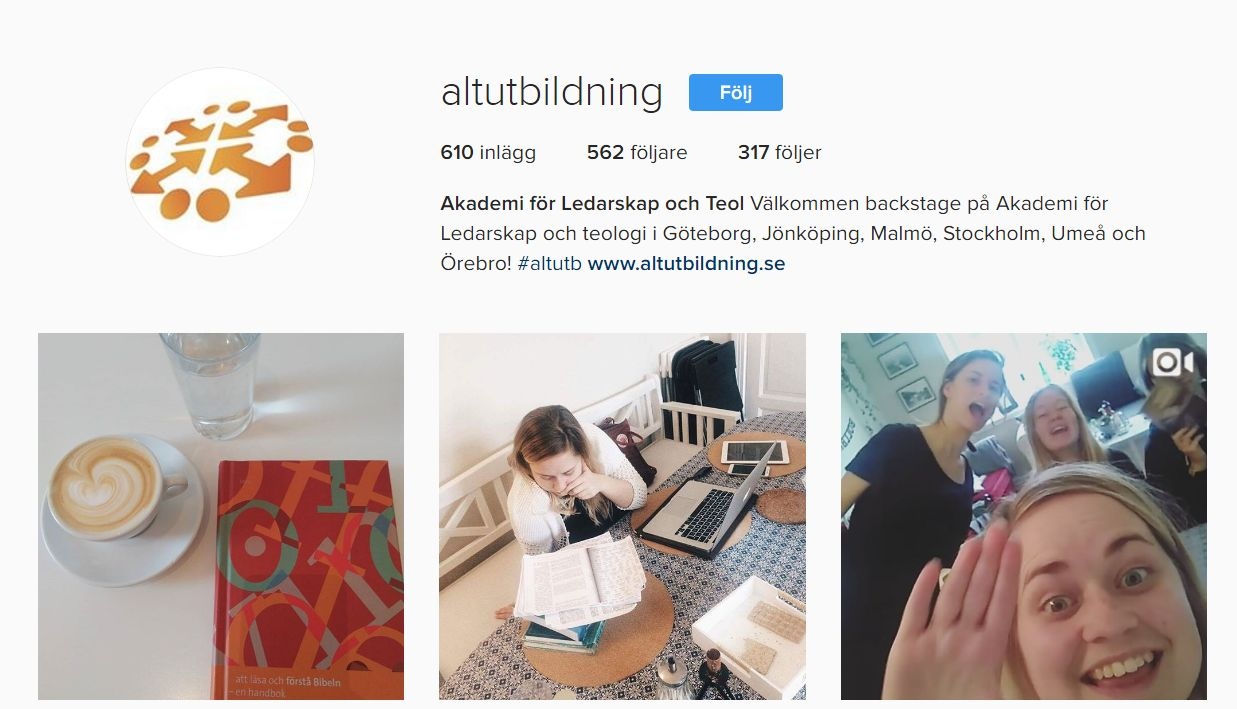 ALT på Instagram